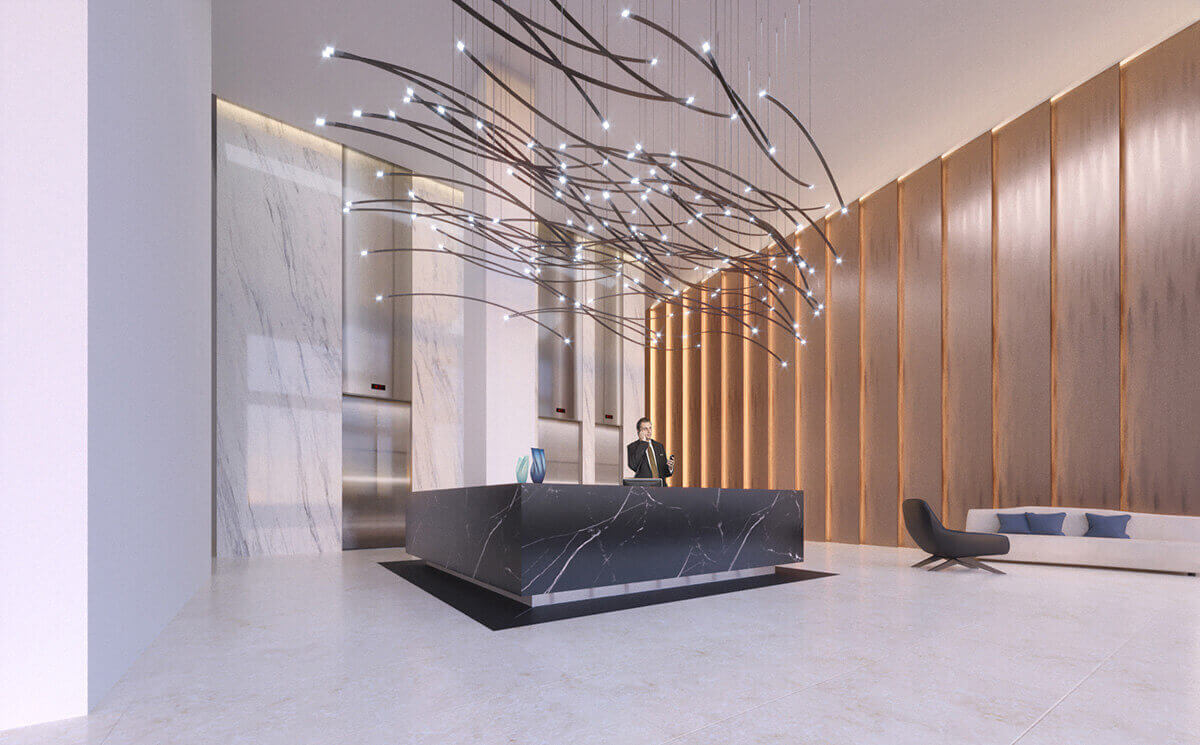 Mississauga Square Lobby Design