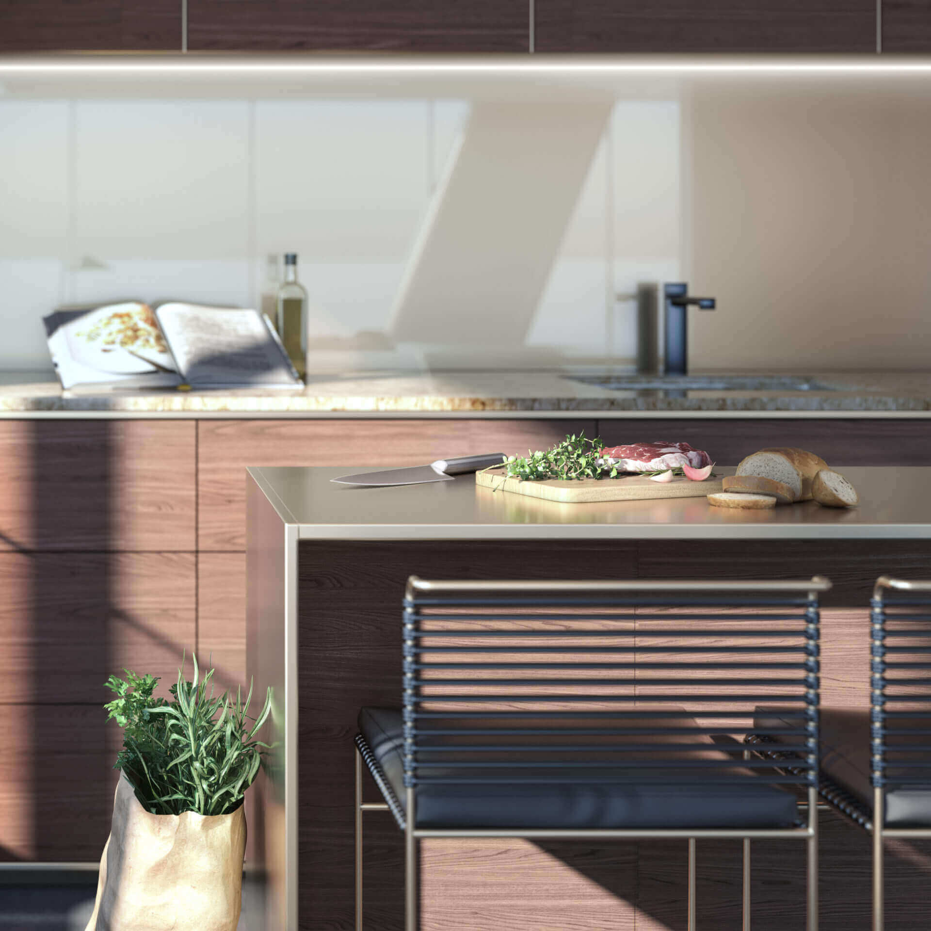 The One Kitchen Rendering