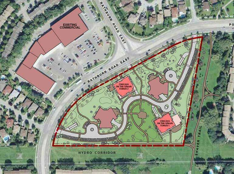 Chelsea On The Green Mississauga Sitemap