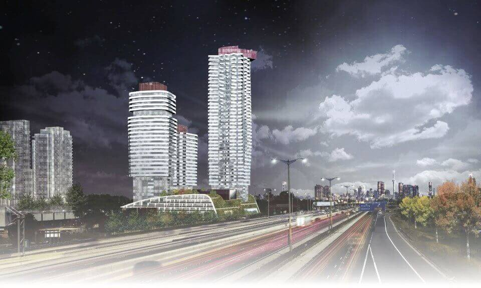 IQ Condos Phase 3 Night Rendering