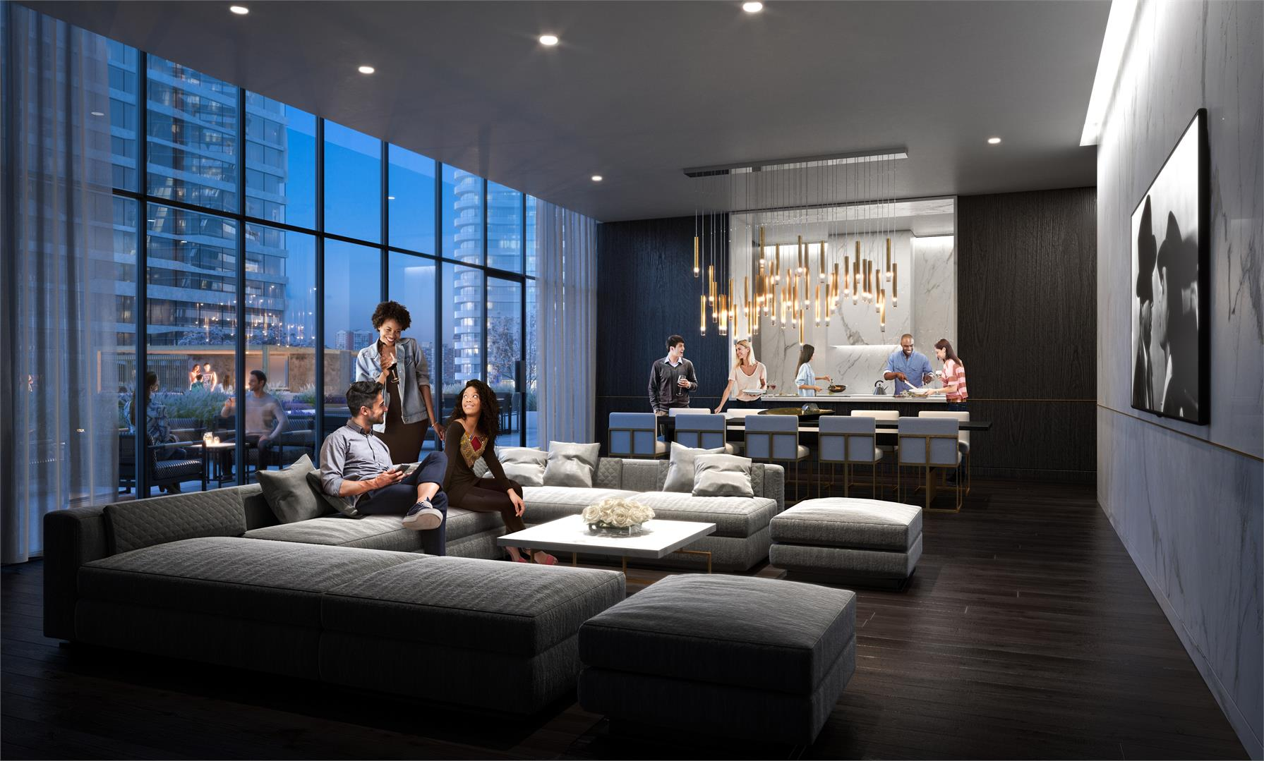 M City 3 Party Room